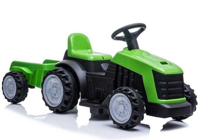 Traktor z Przyczepą na Akumulator TR1908T 2 Kolory Darmowa Wysyłka
