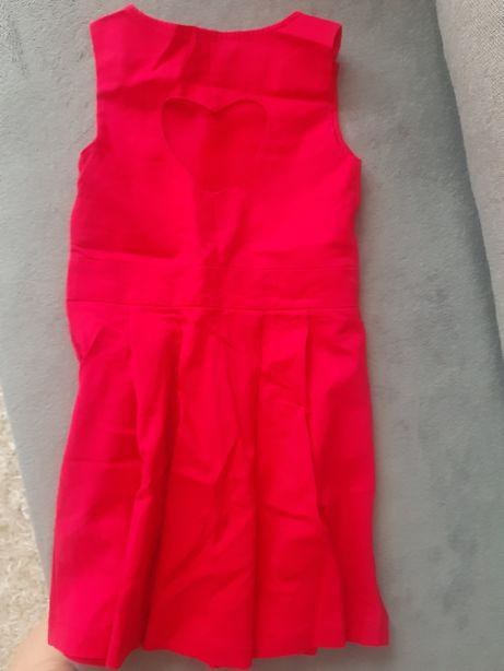 Sukieneczka dziewczęca MOHITO Czerwona,Rozmiar 122-128 OKAZJA