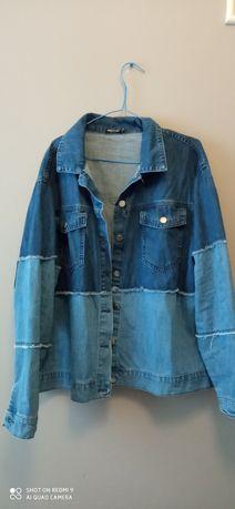 Bluza, kurtka, katana jeansowa rozmiar XL