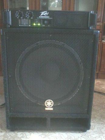 звуковое оборудование басовая колонка  Yamaha SW115V