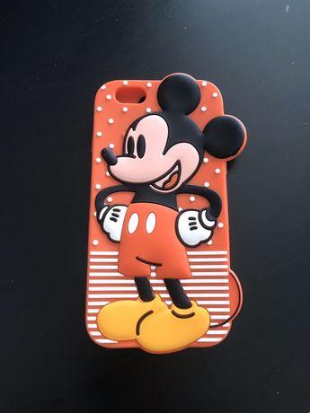 Capa silicone NOVA Mickey iphone 6 c/oferta 1 película