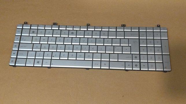 Klawiatura do laptopa Asus N55sl zalana na czesci