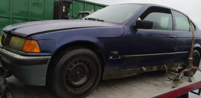 BMW E36 Compact 1.6 94r. Wszystkie Części Lakier Montrealblau Metallic