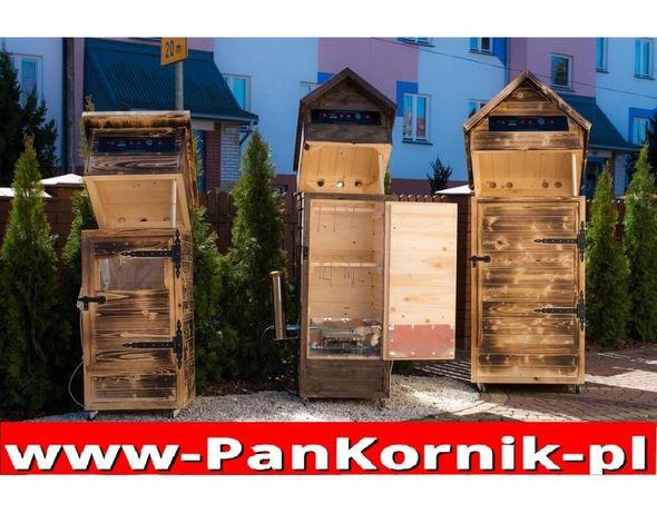 WĘDZARNIA WĘDZARKA Ogrodowa Drewniana Automtyczna PAN KORNIK