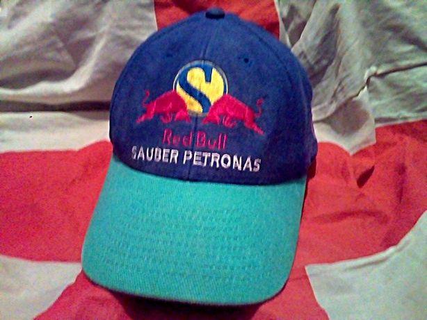 Red Bull Sauber F-1 старинная ретро винтаж бейсболка кепка оригинал