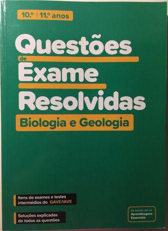 Questões de Exame Resolvidas- Biologia e Geologia- 10º e 11º anos