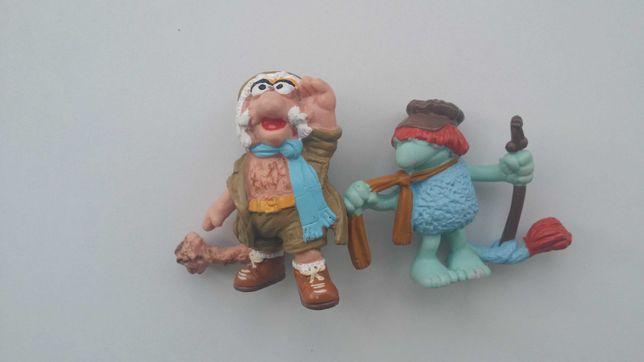 Figuras brinquedos antigos vintage coleccionismo Fraggle Rock 1983