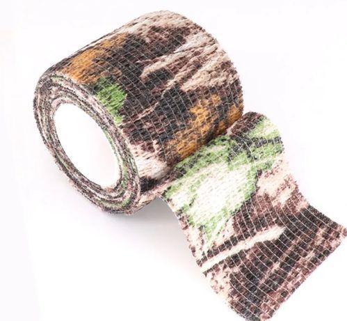 Taśma bandaż maskująca ASG survival polowanie 2,5cm długość 4,5m