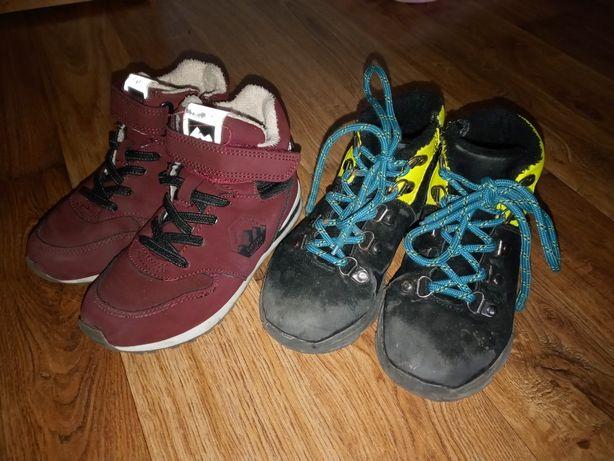 Buty dla chłopca r. 28 dwie pary