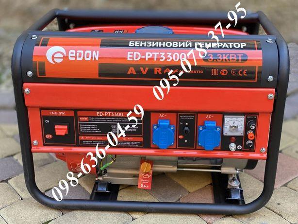 Бензиновый генератор EDON ED-PT3300 бензогенератор 3.3кВт