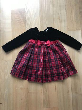 Sukienka dla dziewczynki, rozm. 92
