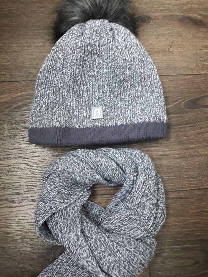 Продам комплект шапка+шарф зима. Кривой Рог - изображение 1