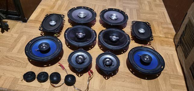Głośniki Sony Pioneer JBL Hertz vtonic GM 165mm 130mm 100m syki syczki