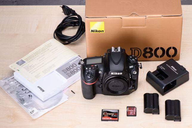 Nikon D800  shutter count 148500