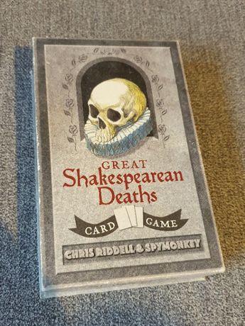 Great Shakespearean Deaths Card Game , Gra Karty , Karciana NOWA