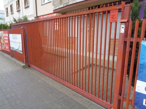 Brama rozsuwana 195X6m