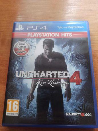 Gra na Ps4 Uncharted 4