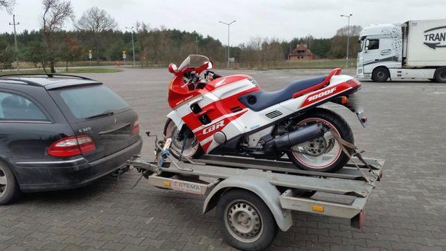 wypożyczę/wynajmę przyczepka motocyklowa 3x motocykl