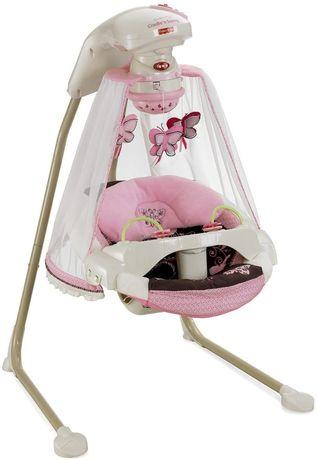 Укачивающий центр с проектором fisher price butterfly cradle n swing