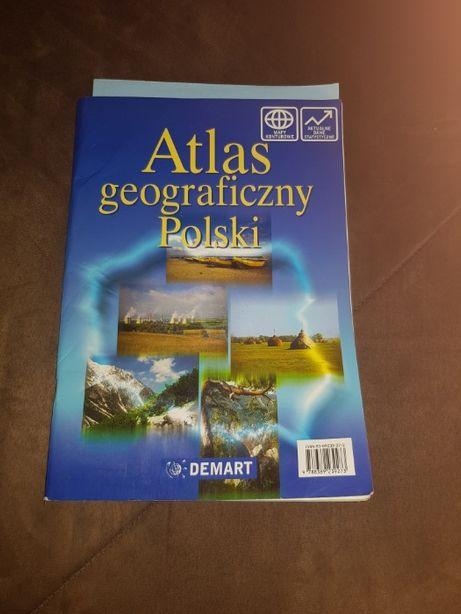 Dwa atlasy geograficzne