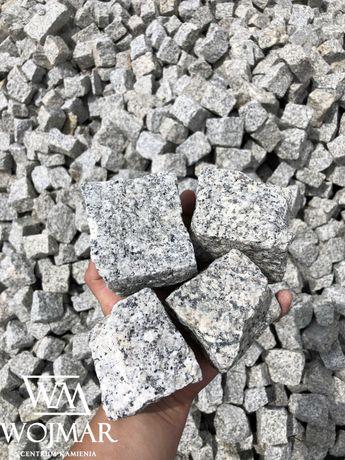 Szara Kostka Granitowa 9-11cm - kamień naturalny do ogrodu TRANSPORT
