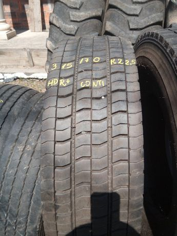 Opona 315/70r22.5 HDR+ continental