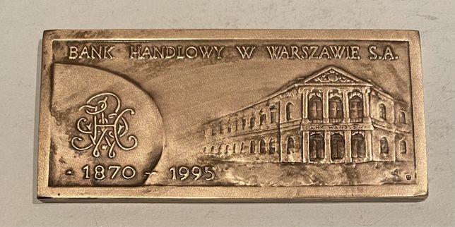 Medal 125 lat Banku Handlowego w Warszawie 1995. Mennica Państwowa