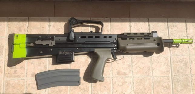 Airsoft G&G L85 Full Metal Blowback upgraded
