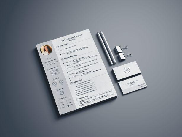 Curriculum Vitae personalizado (e outros trabalhos de design)