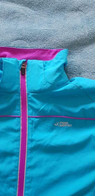 Bluza Dry Plus wiatrówka Frank Shorter do biegania rozm 38 M