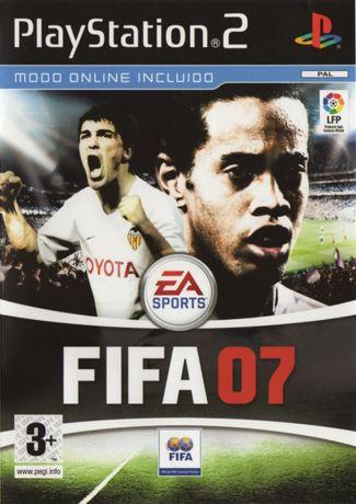 Jogo Ps2 Fifa 07