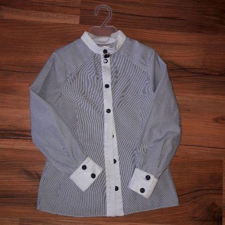 Школьная форма рубашка блузка зиронька ZIRONKA в новом сост. 122-128