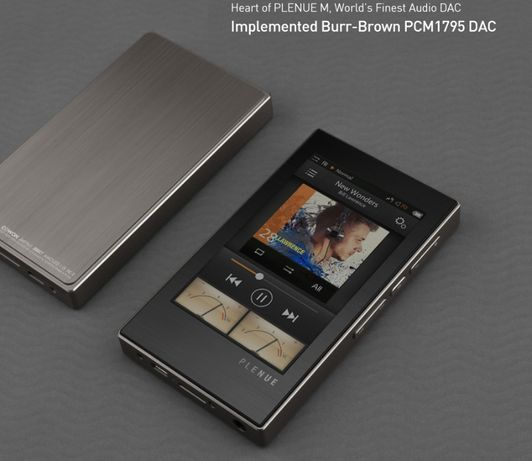 Cowon Plenue M - подарок для аудиофилов! 24bit/192kHz