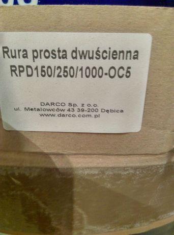 DARCO rura prosta dwuścienna izolowana RPD 150/250/1000-OC5
