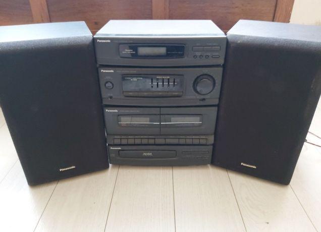 Radio, odtwarzacz CD/Kaset z wieżami