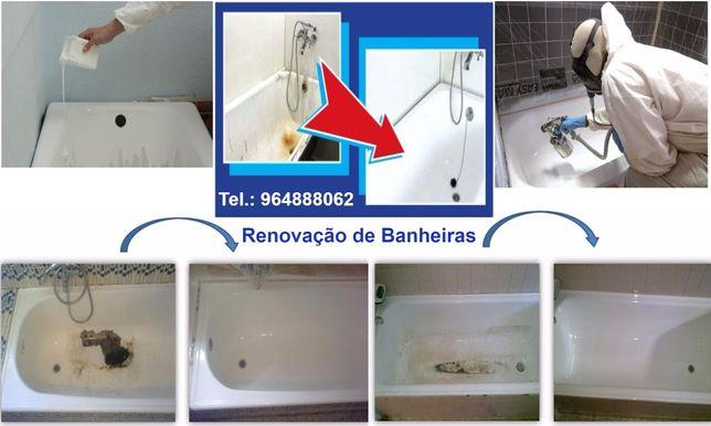 Renovação de banheiras