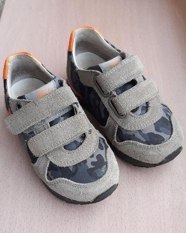 Кожаные кроссовки кеды Naturino 14,5 см 24 размер