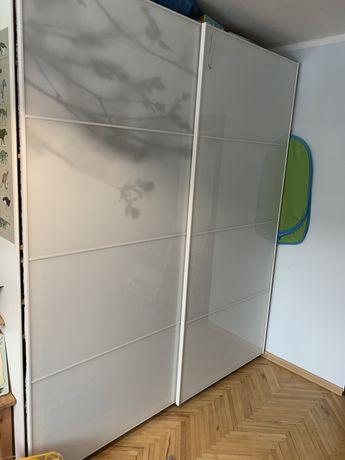 Drzwi przesuwane pax szkło ikea 200/236