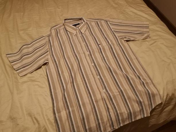 Koszula markowa bawełniana Tommy Hilfiger XL