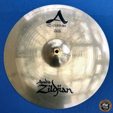"Zildjian - talerz A Custom Medium Crash 16"""