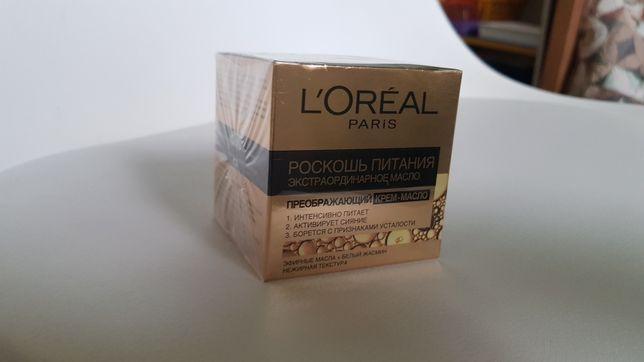 Крем-масло для лица L'Oreal Paris Роскошь питания. Новый. Крутой