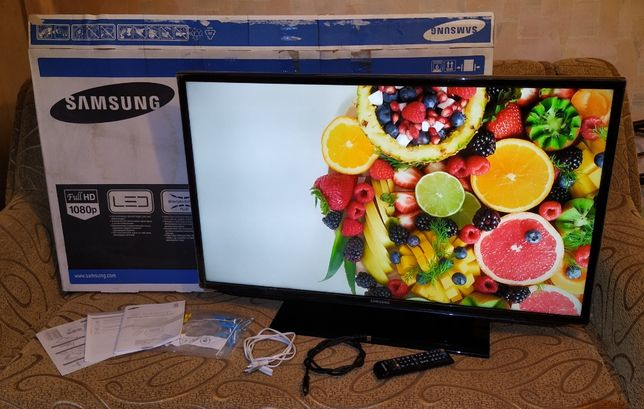 "T2 тюнер! Телевизор 40"" FullHD Samsung UE40EH5007 LED 1920х1080 бу"