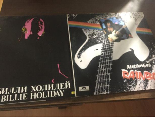 "Пластинки Billie Holiday Rainbow ""Greatest Hits"" - Мелодия СССР"