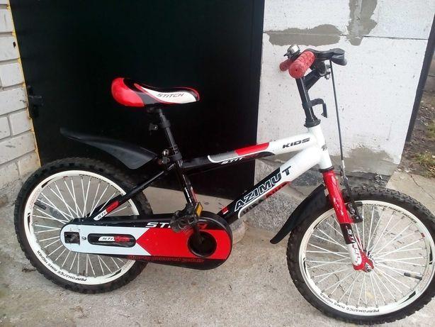 Дитячий велосипед AZIMUT stitcn kids