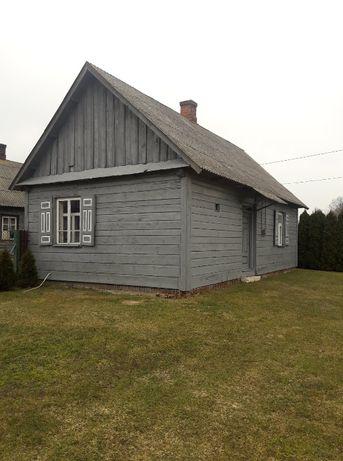 Sprzedam budynki drewniane do rozbiórki - dom, oborę i stodołę