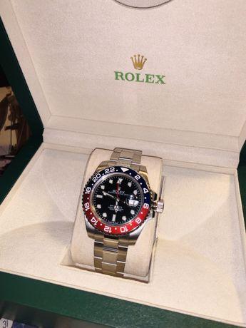 Rolex GMT-Master II 116719 BLRO GMF V3 SS 904L Black Dial Swiss 3186