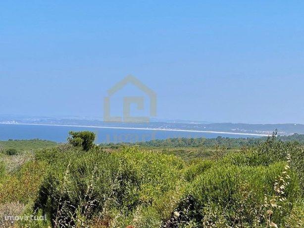 Terreno vista deslumbrante perto da praia da foz Meco Sesimbra