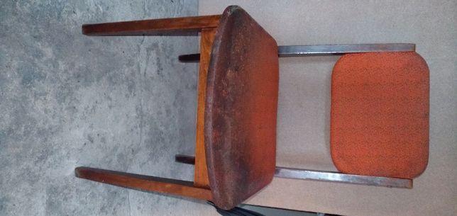 krzesło z epoki prl