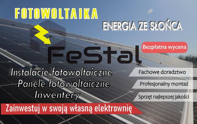 Instalacja fotowoltaiczna 9kWp panele fotowoltaiczne Sofar Solar Longi
