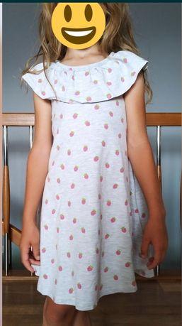 Sukienki x 3szt. r. 110-116